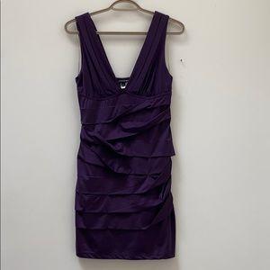 Dark purple Nikibiki dress